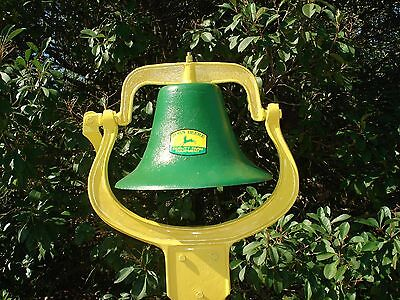 Large Farm /Dinner Bell Gift For JOHN DEER TRACTOR Fan / Collector