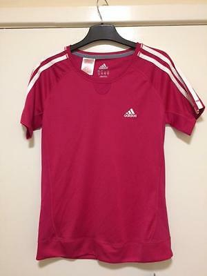 Adidas Girls Climacool Sports T-Shirt - age 15-16
