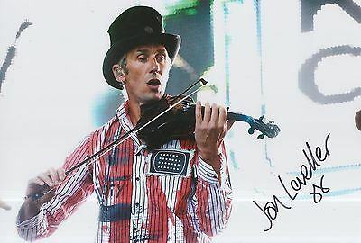 Jon Sevink Hand Signed 12x8 Photo The Levellers.