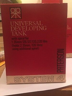 Vintage Paterson Universal Developing Tank System 4 Film Photography