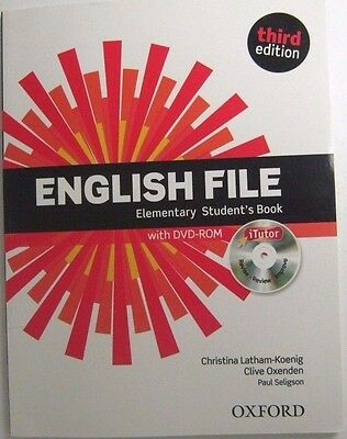 Edition English File Elementray Third Student's Books Oxford  Clive With Dvd