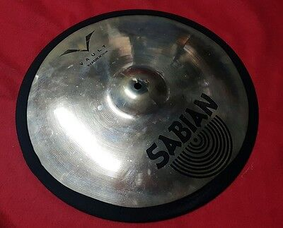 Cymbal Silencers, NEW black type. Easy fit, very quiet, feels real.
