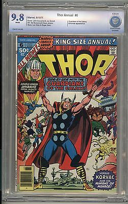 Thor Annual 6 - Guardians of the Galaxy - CBCS 9.8 White