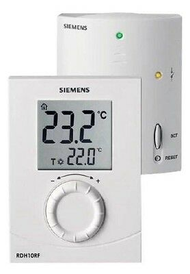 SIEMENS RDH10RF/SET-GB Wireless Room Thermostat
