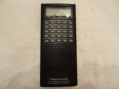 Radio Shack PRO-46 Scanner Front Cover with Speaker & Keypad assembly