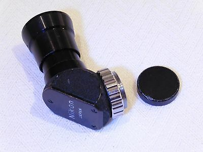 Nikon Right Angle View Finder Genuine Nikkor F accessory vintage and collectable