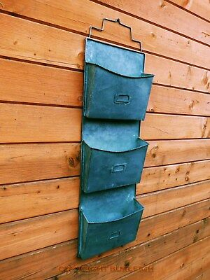 A Vintage Style Wall Letter & Storage Rack. Decorative Stylish & Practical