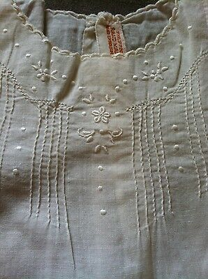 Antique Vintage Baby Clothes - Early 1900's - Delicate Hand Embroidery