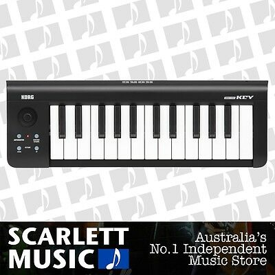 Korg MicroKey 25 Note Midi Controller w/3 Years Warranty *BRAND NEW* - 30% off.