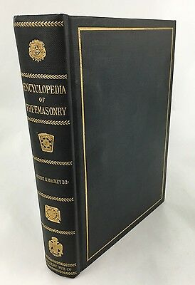 An Encyclopedia of Freemasonry by Albert Mackey, single volume, 1917, B1