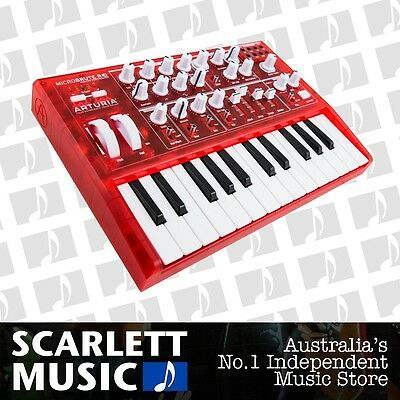 Arturia Micro Brute 25 Key Synthesizer Limited Edition Red MicroBRUTE *NEW*
