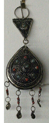 Moroccan Fibulae Jewelry Berber Antique Silver Original Clothing Safety Pin
