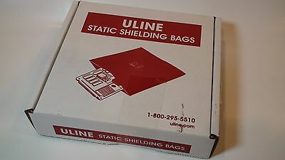 NEW Uline Static Shielding Bags S-2506 - 3 x 5   Box of 100