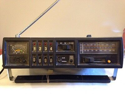 Vintage Ge General Electric 7-2995 The Searcher Ps/scan Radio