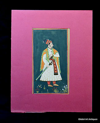 Rare Hand Painted Fine Decorative Collectible Indian Miniature Painting. G77-8