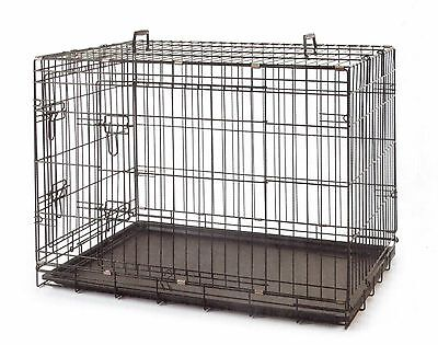"Brand New 36"" Large Collapsible Metal Pet Dog Puppy Cage Crate Ed623"