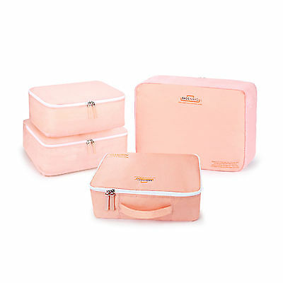 Bags in Bag BWPSS4 Wide Travel Pouch Waterproof Pockets Wide Mini Bags 4 Colors