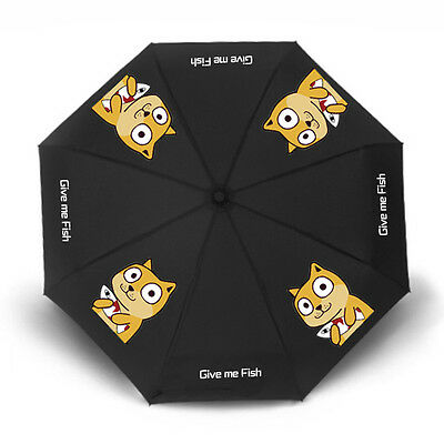 Hot Emoticon Doge Kabosu Umbrella Sunshade All-weather Umbrella Christmas Gift