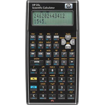 Brand New HP 35s Scientific Calculator *Battery & protective case included*