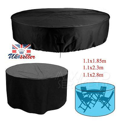 UK Garden Patio Seat Table Chair Round Cover Waterproof Outdoor Furniture Covers