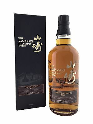 Yamazaki Limited Edition 2015 Single Malt Whisky 700ml 43%