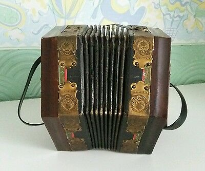 Vintage Accordion Made in Germany Royal Registered