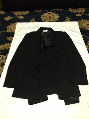 Motherhood Maternity Size M Black Lightweight Jacket