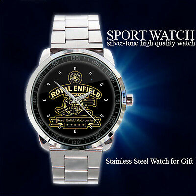 New Black Logo and Identity for Royal Enfield Sport Metal Watch