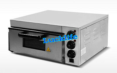 EP1ST Commercial Electric Pizza Oven Bread Cake Baking Machine With Timer 220V H