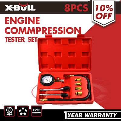 X-BULL Petrol Engine Compression Tester Kit Test Set For Automotive Car Tool
