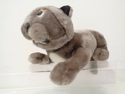 """CREATURE COMFORTS 10"""" CAROL THE CAT SOFT TOY by AARDMAN ANIMATION 1993"""