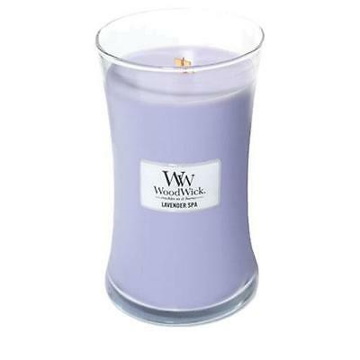 WoodWick Large Jar Scented Candle - Lavender Spa