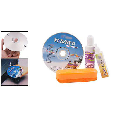 W6 4 in 1 CD DVD Rom Player Maintenance Lens Cleaning Kit