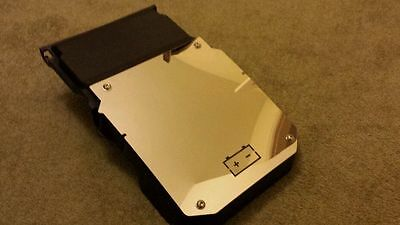 Ford Focus RS MK2 polished stainless steel battery cover with logo -chrome bling