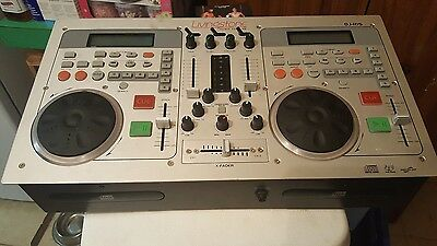 Dual CD DJ Console with road case