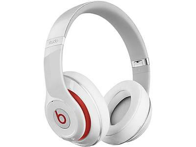 Beats by Dr. Dre Studio 2.0 Wired Over-Ear Headphone (White) - A Grade Recertifi