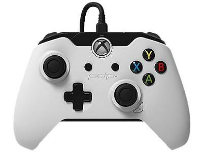 PDP Wired Controller for Xbox One & PC, White, 048-082-NA-WH