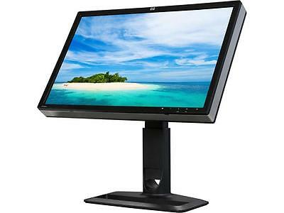 "HP Black 24"" Widescreen IPS Panel LCD Monitor ZR24W 7MS GTG w/ Speaker OP-090003"
