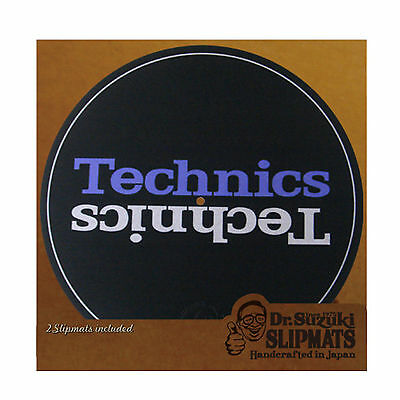 "Dr Suzuki 12"" Slipmats Mix Edition Technics, Paar"