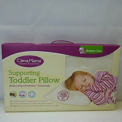 Clevamama Clevafoam Toddler Pillow From 12 months