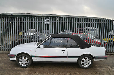 Cheap 1988 Vauxhall Mk2 Convertible/cabriolet Cavalier Project