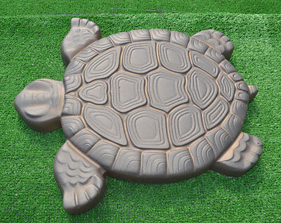 Turtle Stepping Stone Mold Concrete Cement Mould ABS Tortoise for garden path