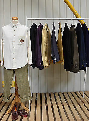 Job Lot 10 X Vintage Corduroy Shirts. Unisex.