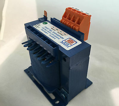 1 x Single Phase Transformer 100VA Input 0 - 240VAC Output 0 - 24VAC SV0100P4S6