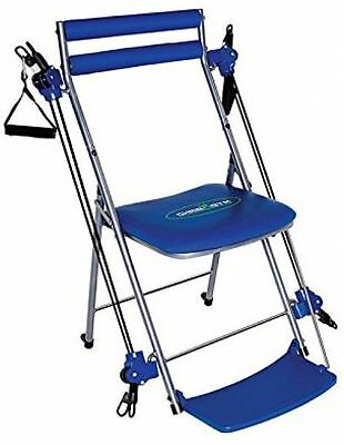 Chair Gym Total Body Workout including Twister Seat, Blue
