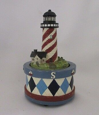 Lighthouse Kitchen Timer That Lights Up & The Sound Is Of The Ocean & Seagulls