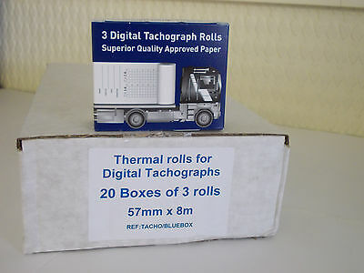 Digital Printer Rolls (20 boxes of 3) HGV, PSV, tachograph product