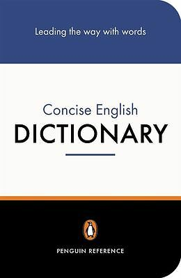 Penguin Concise English Dictionary The by Robert Allen - Paperback - NEW - Book