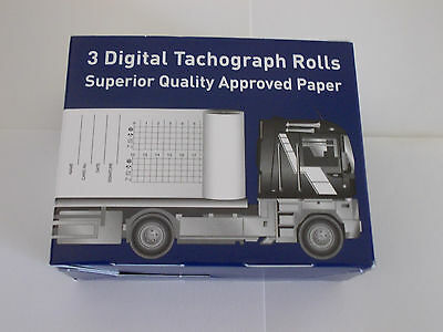 Digital Printer Rolls (10 boxes of 3) HGV, PSV, tachograph product