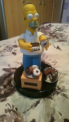 Collectable Homer Simpson Clock 1998 The Simpsons